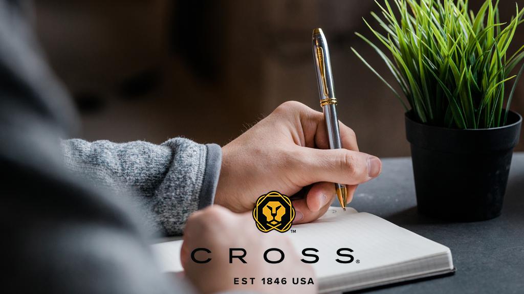 skriva med cross